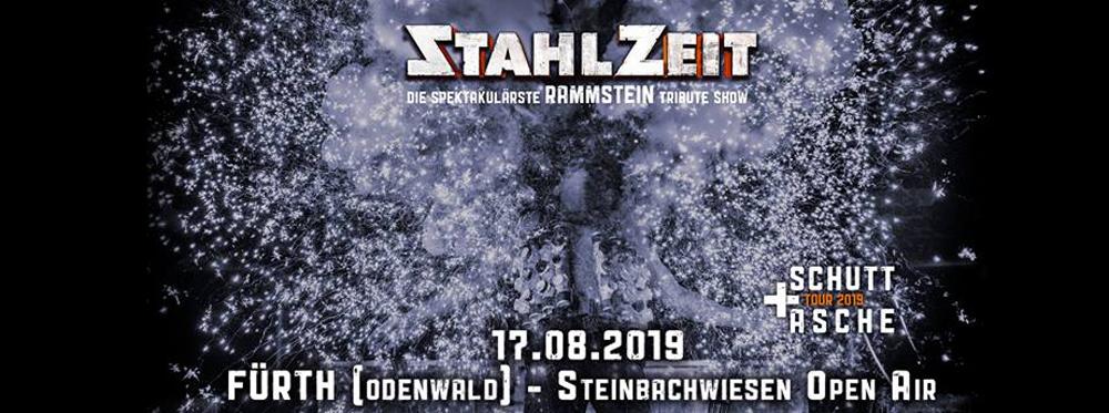 STAHLZEIT SCHUTT UND ASCHE TOUR 2019